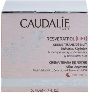 Caudalie Resveratrol [Lift] Herstellende Nachtcrème  met Glad makende Effect